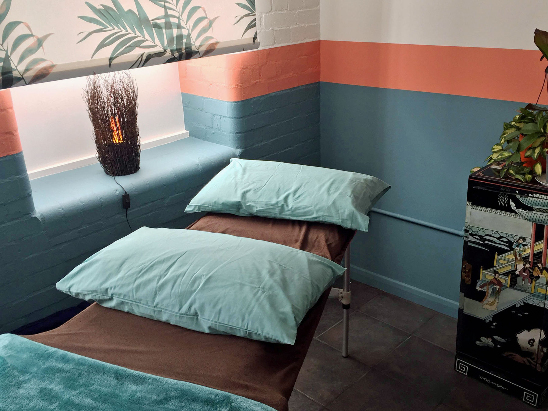the beautiful treatment rooms at Treat Norwich
